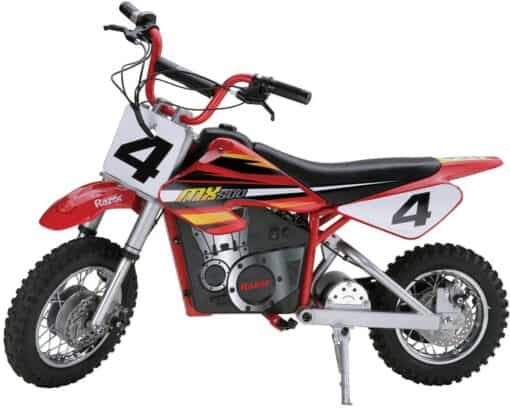 Mototec 24V Dirt Bike VS Razor MX500