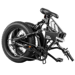 Swagtron Folding Electric Bike - Fat Tire EB-8 Outlaw