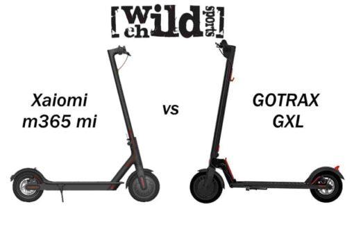 gotrax gxl vs xaiomi m365 mi electric scooter