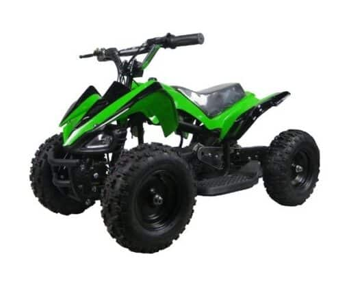 Kids Electric Four Wheeler - Fit Right Quad Green