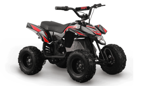 SSR Motorsports Kids Electric Quad_red